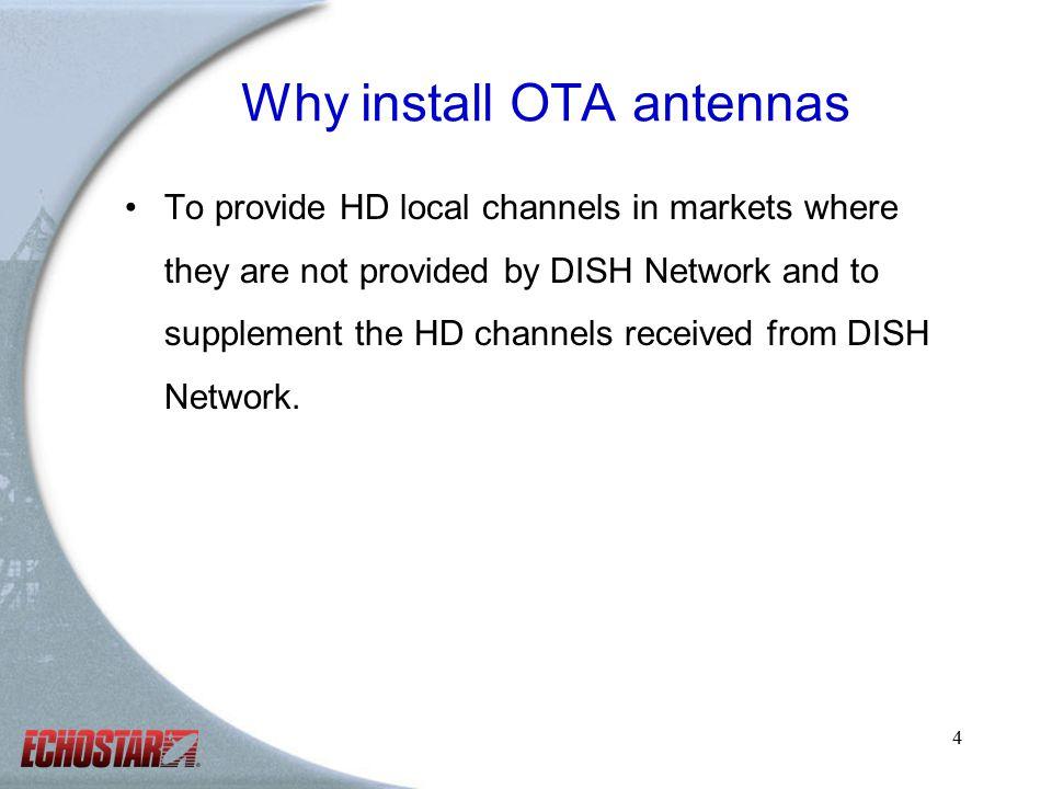 1 Over-the-air (OTA) Antenna Installation Training Revised 2