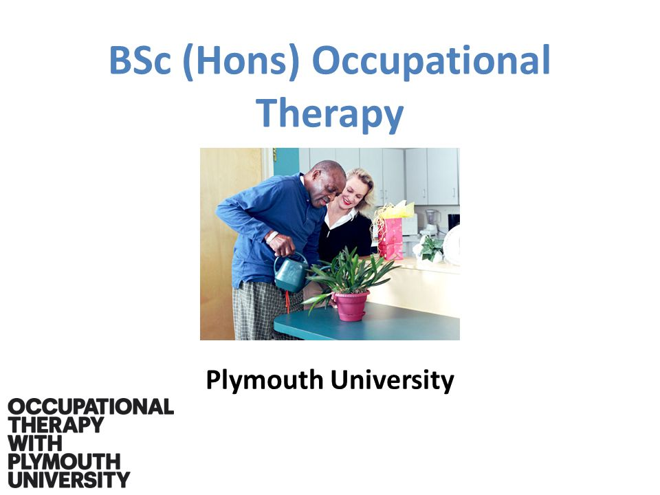 BSc (Hons) Occupational Therapy Plymouth University
