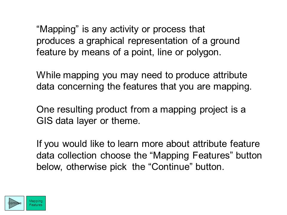 Will you be… MappingMapping or Navigating?Navigating Which