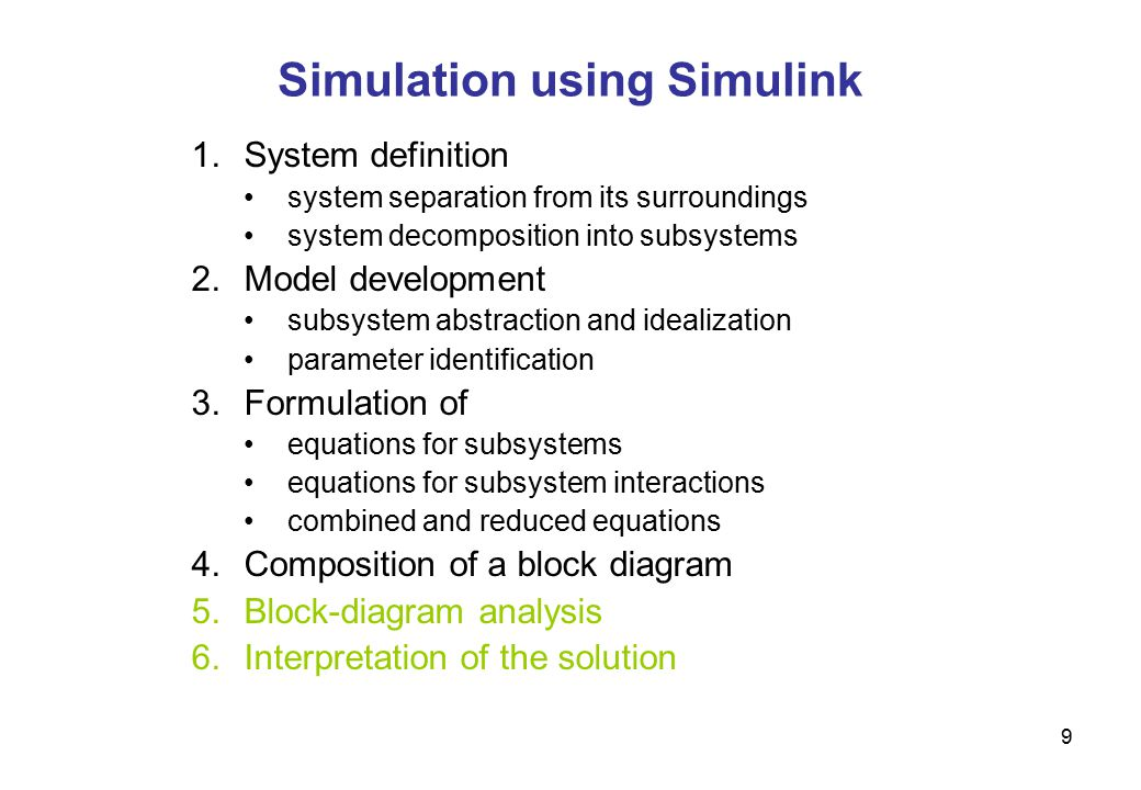 Efficient modeling and simulation of multidisciplinary systems 9 9 simulation ccuart Images