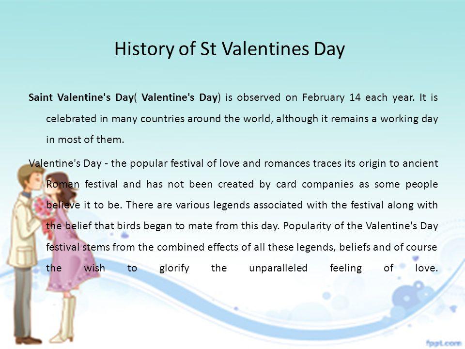 History Of St Valentines Day Saint Valentine S Day Valentine S Day