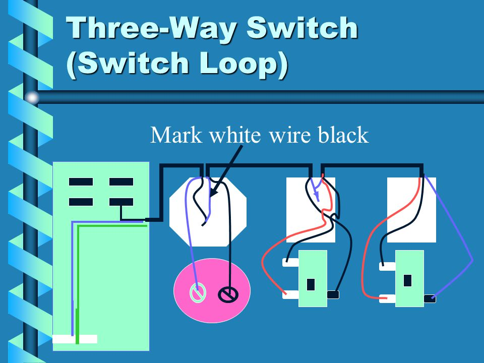 Electrical Wiring Three-Way Switches. Three-Way Switch. - ppt download
