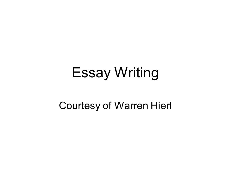 Hamlet Essay Thesis  Essay Writing Courtesy Of Warren Hierl Locavores Synthesis Essay also Sample Of Proposal Essay Essay Writing Courtesy Of Warren Hierl Writing Is Thinking On Paper  Science In Daily Life Essay