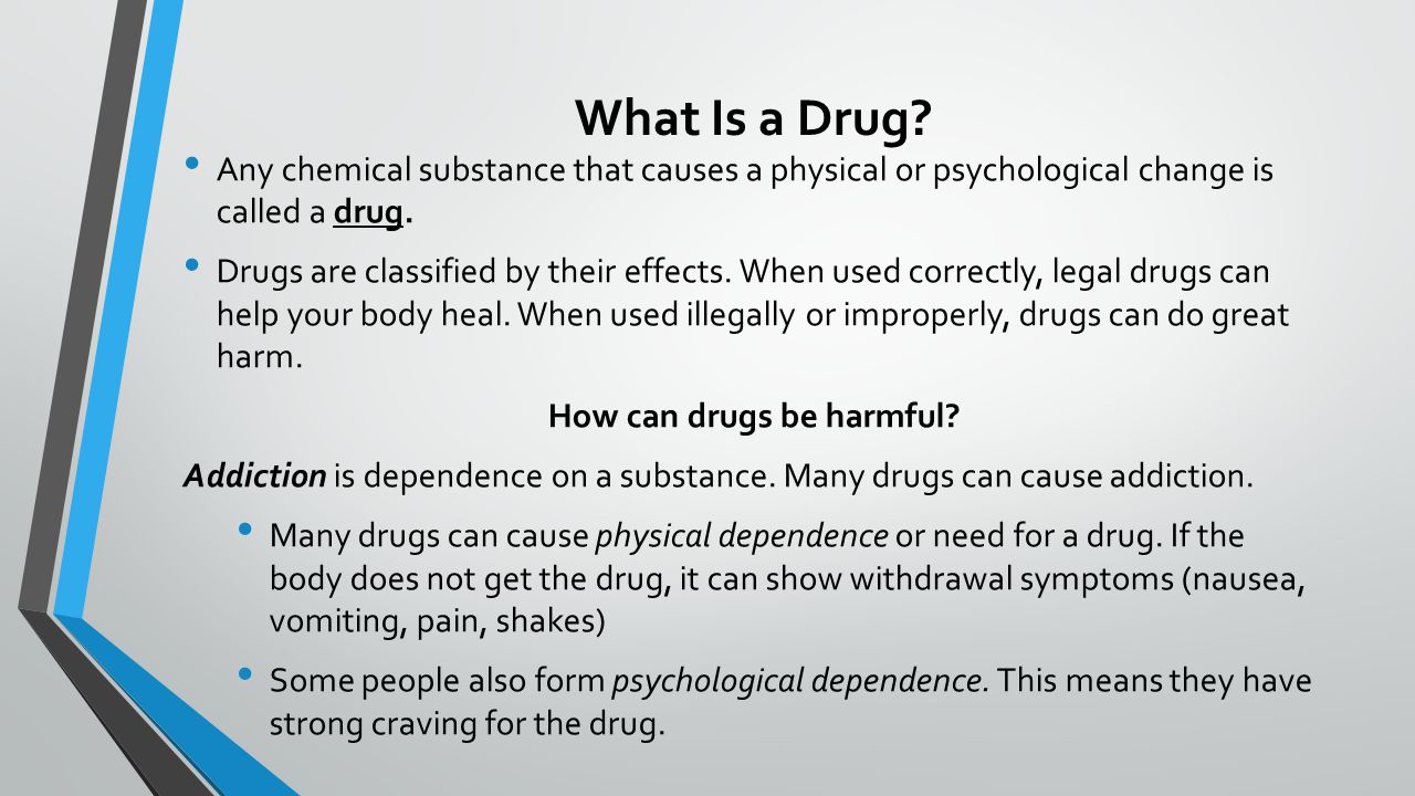 What Is a Drug.