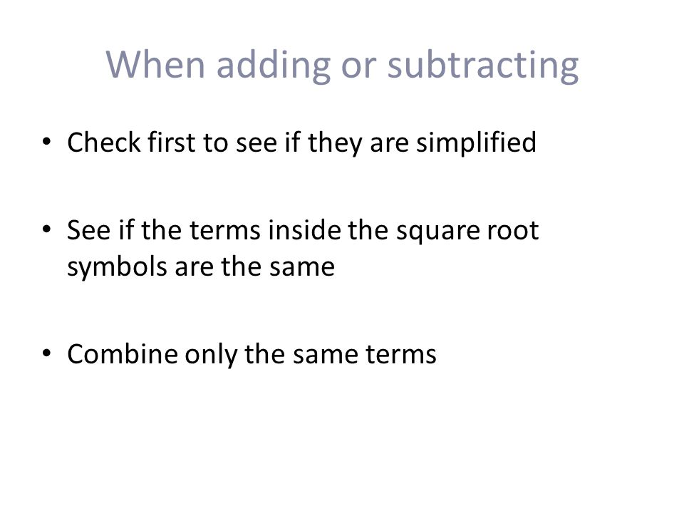 Facts About Square Roots Facts About Square Roots Ppt Download