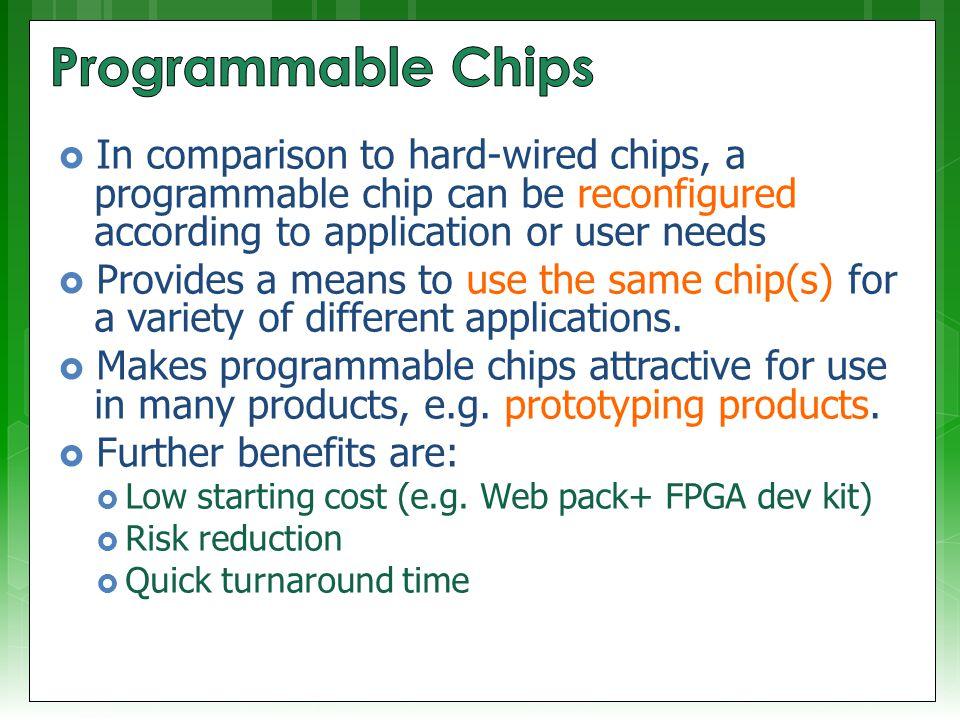 Lecture 12: Programmable Logics, HDL & VHDL Quick Recap Lecturer ...