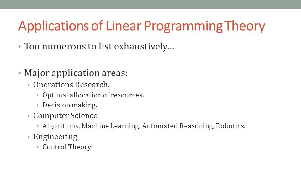 How to solve a linear programming problem using the graphical.