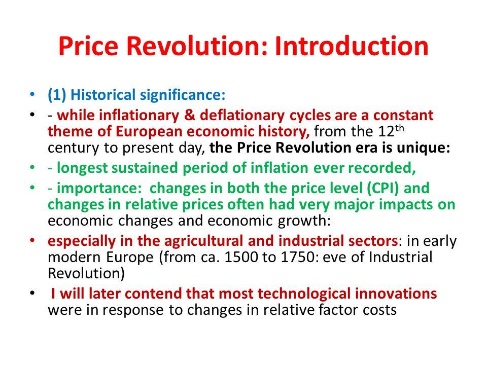 economic history of europe timeline