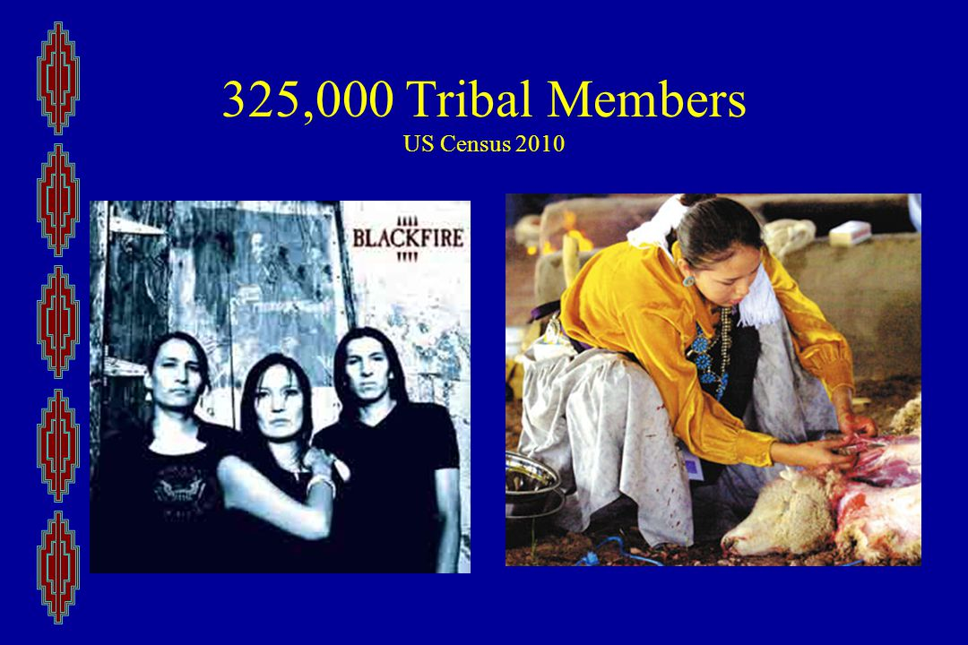 325,000 Tribal Members US Census 2010