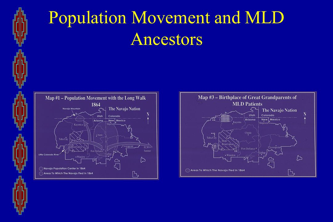 Population Movement and MLD Ancestors