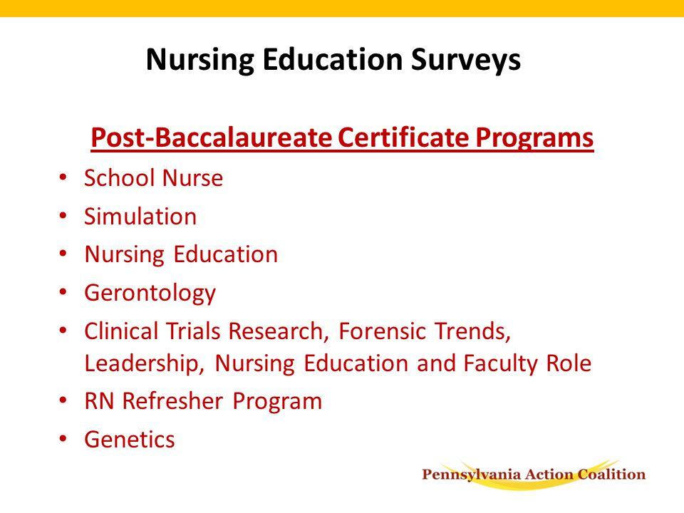 Fall 2012: Survey Monkey Distribution Practical Nursing Programs ...