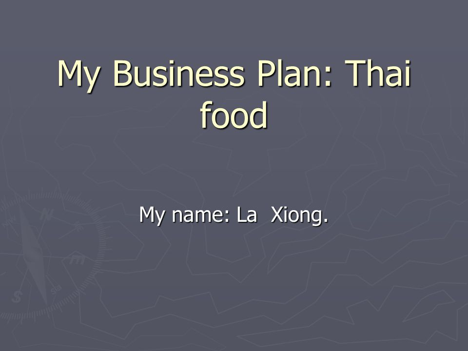 how to make a business plan for a small restaurant