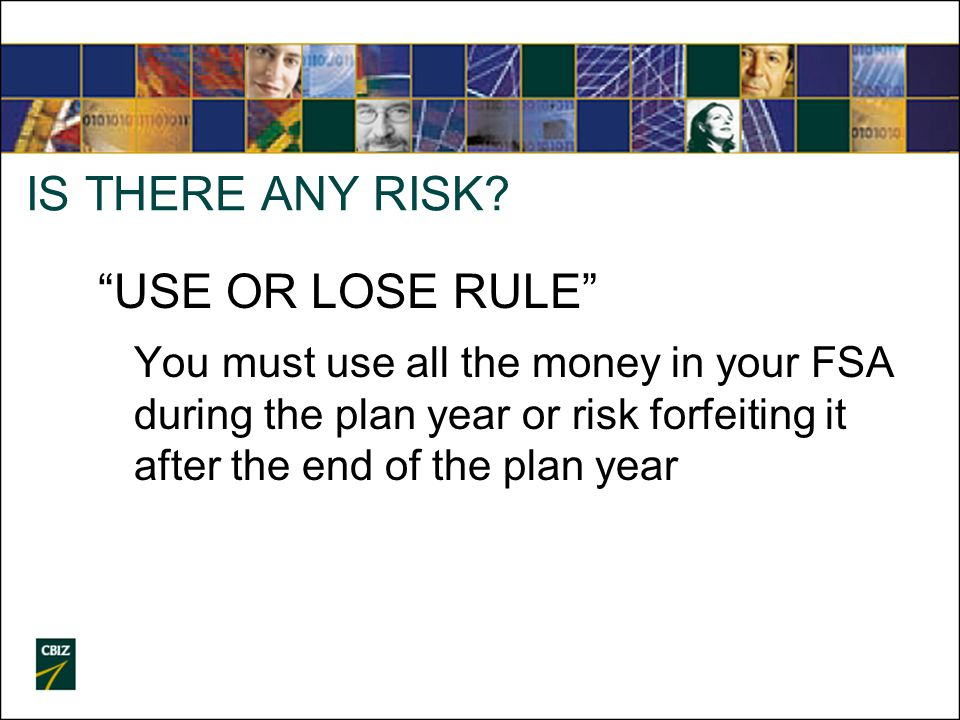 IS THERE ANY RISK.