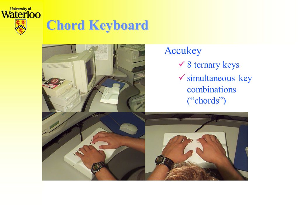 Chord Keyboard Richard Wells  Complaints user-keyboard