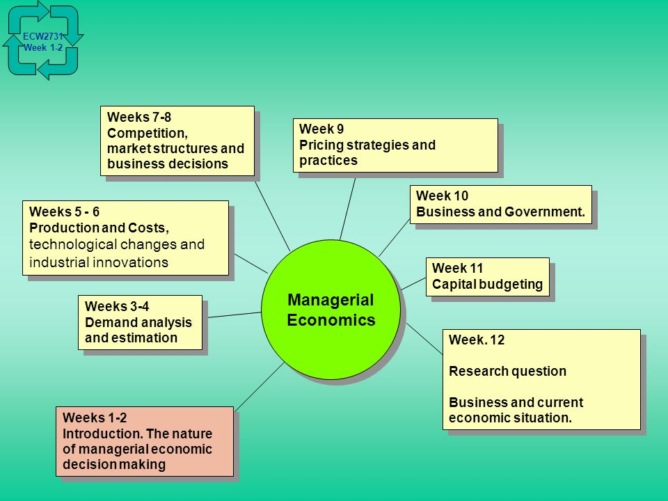 how does managerial economics help in business decision making