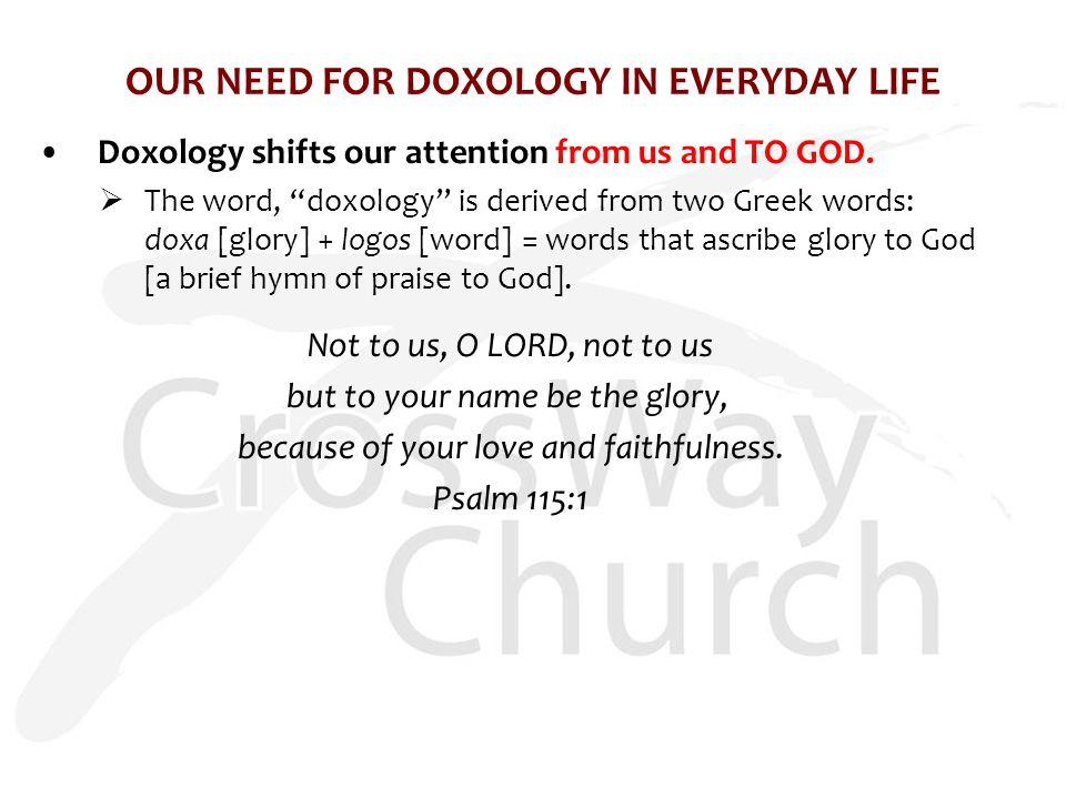 Sample Lesson Plan Doxology Hymns Praise god Bible