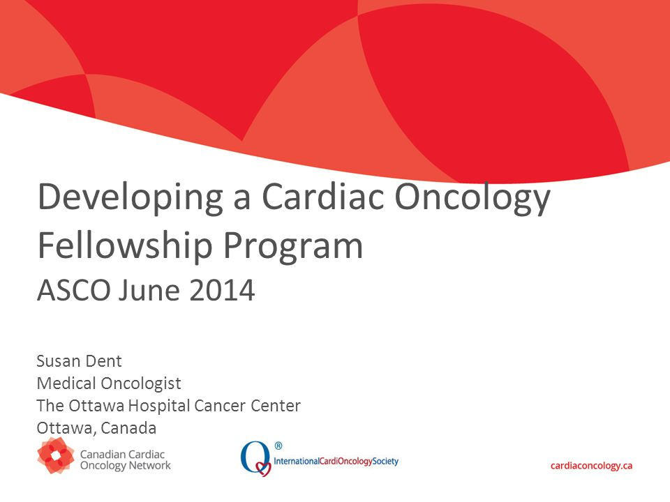 Click to edit Master title style Developing a Cardiac Oncology