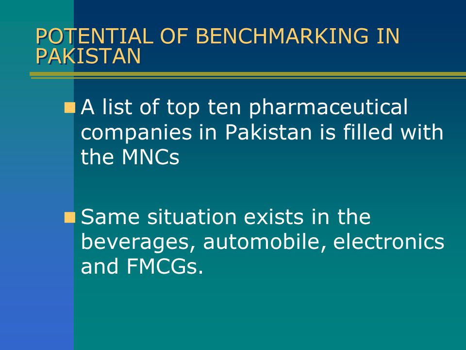 "BENECHMARKING - DEFINITION ""The continuous process of measuring"
