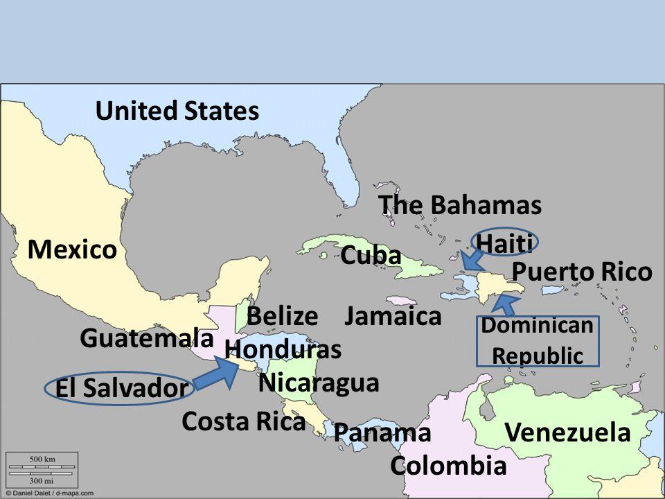 Honduras Mexico Map.Latin American Countries Map Review Mexico Nicaragua Panama