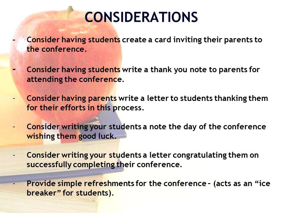 Student Led Conferences John F Kennedy High School Lynne Ridgill Ws