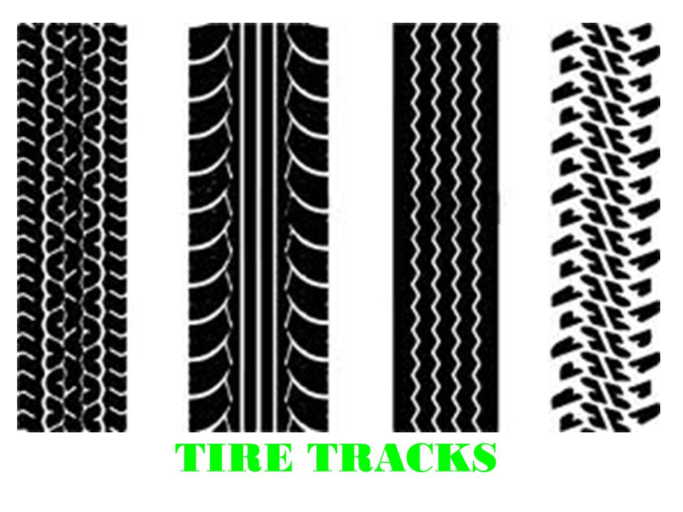TIRE TRACKS Track Vs Tread Tire Track Path Left In The Soil By Custom Tire Tread Patterns