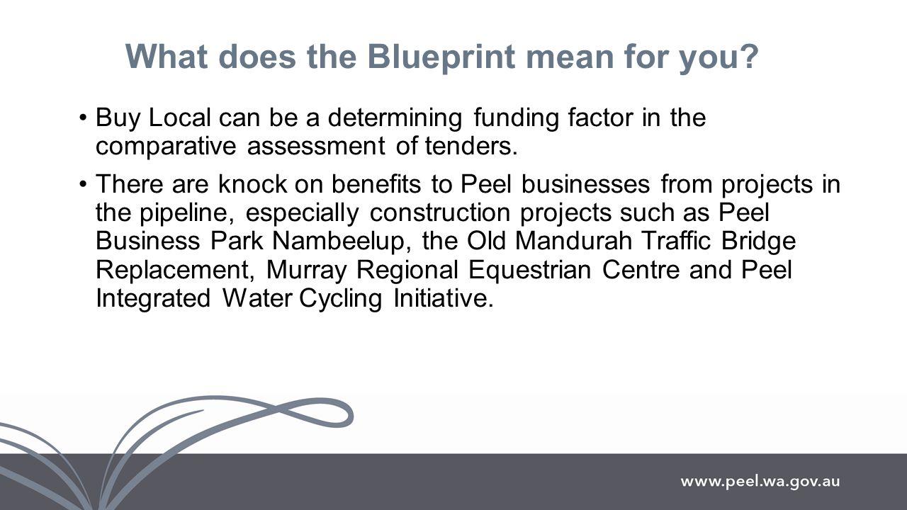Blueprint peel regional investment blueprint progressiveprosperous 12 what does the blueprint mean for you malvernweather Images