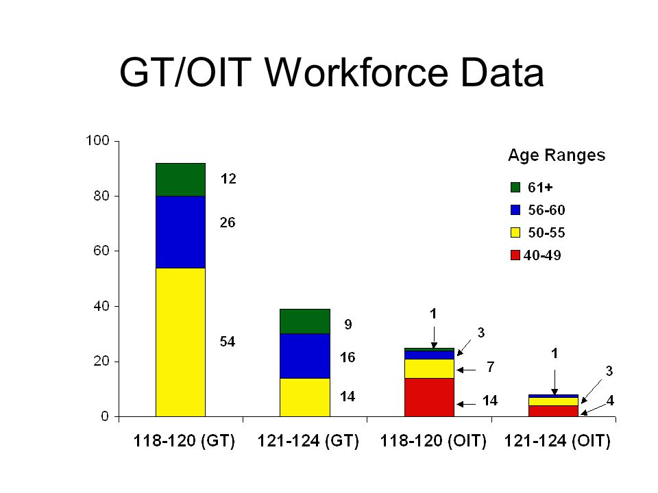 GT/OIT Workforce Data
