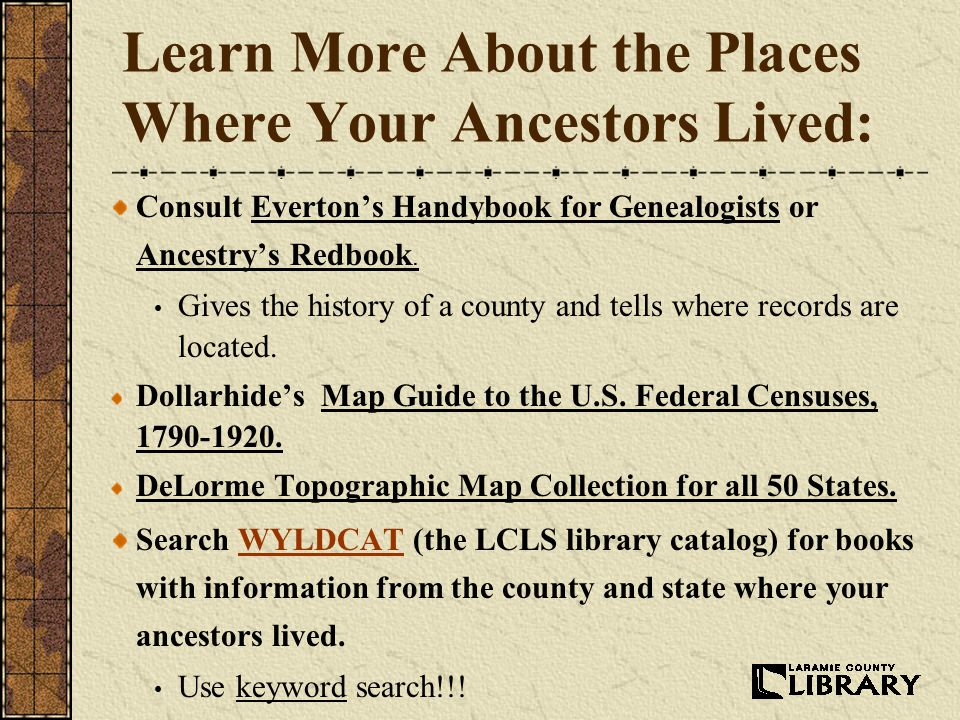 Genealogy Basics How to get started researching your family history ...