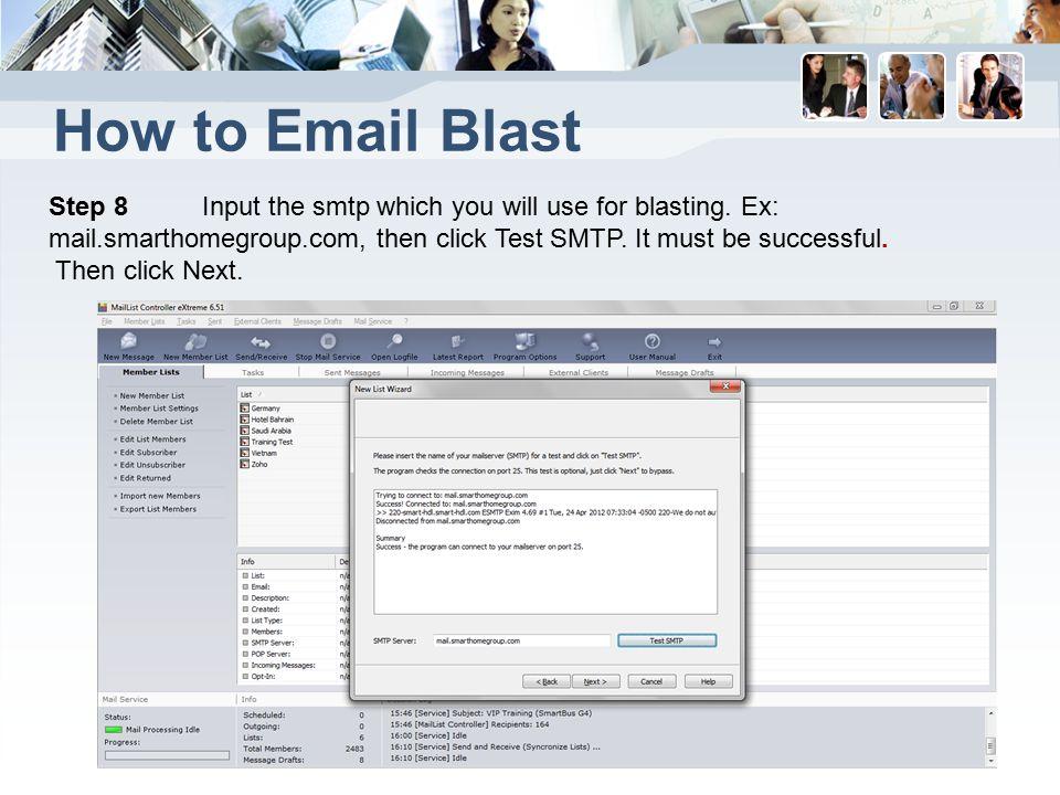 maillist controller extreme