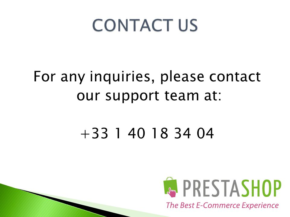 For any inquiries, please contact our support team at: