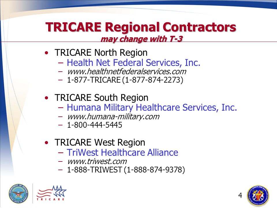 Tricare Your Military Health Plan Retiree Benefits Ccgnrc Annual