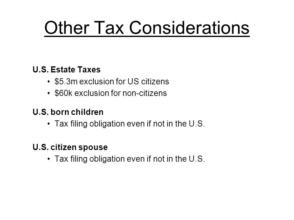 U S  Income Taxation of Foreign Students, Teachers and