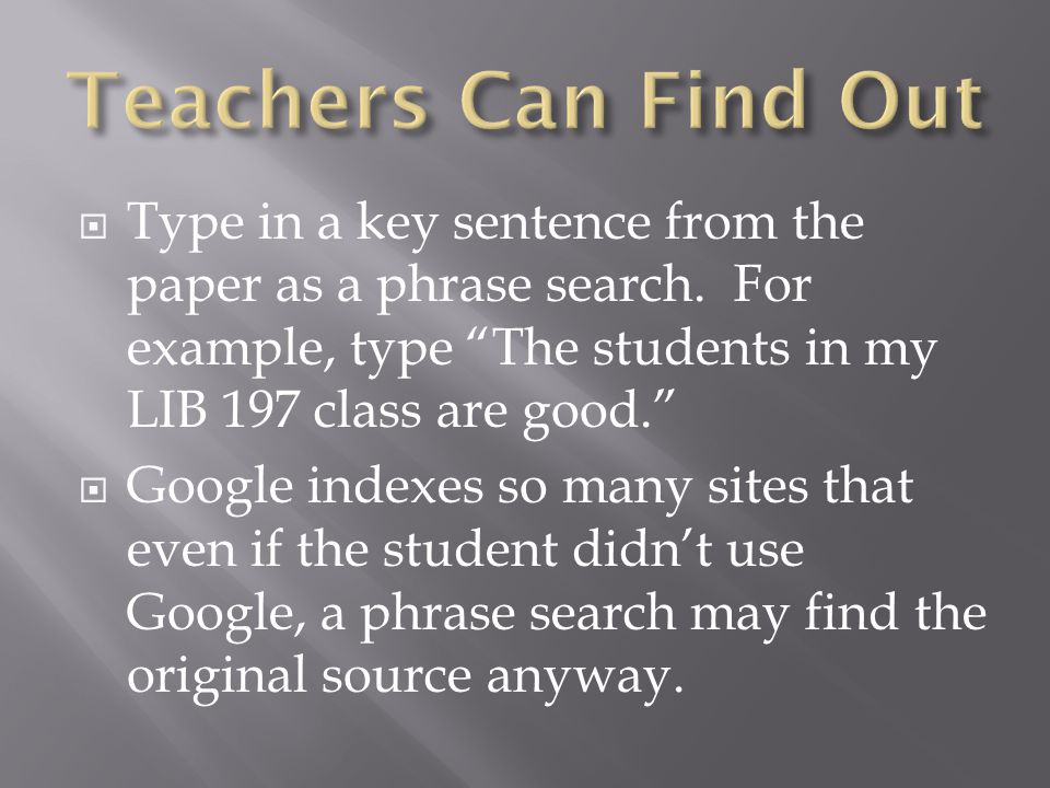  Type in a key sentence from the paper as a phrase search.