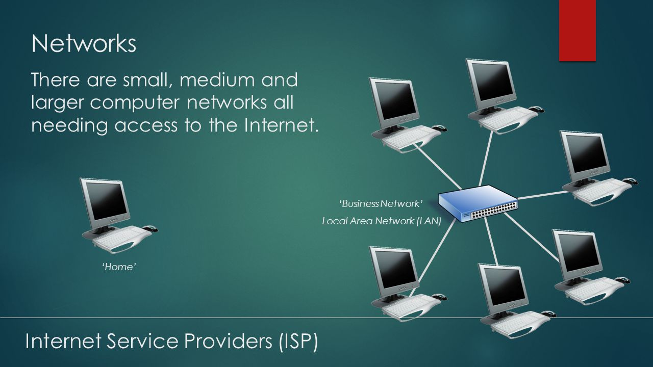 Internet Service Providers (ISP) HOW INTERNET SERVICE