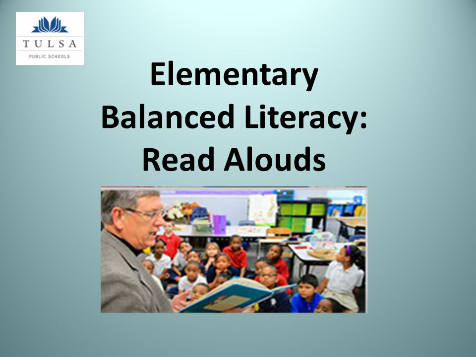 Elementary Balanced Literacy: Read Alouds