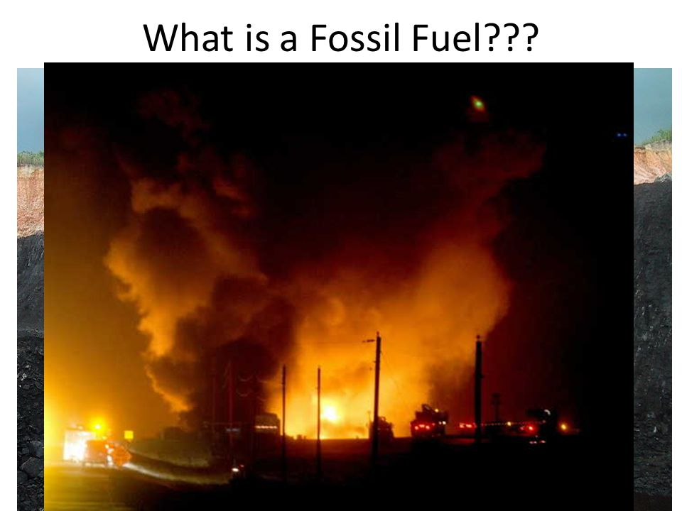 What is a Fossil Fuel
