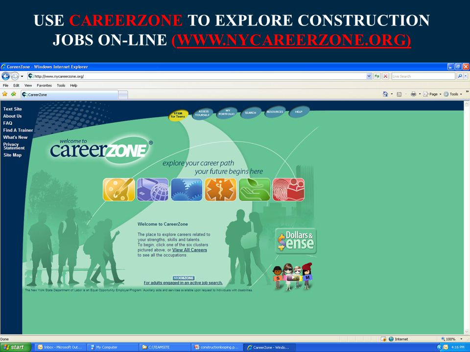 Youth-Related Career Information on the WEB   A career exploration tool   Exploring career information – what interests you.