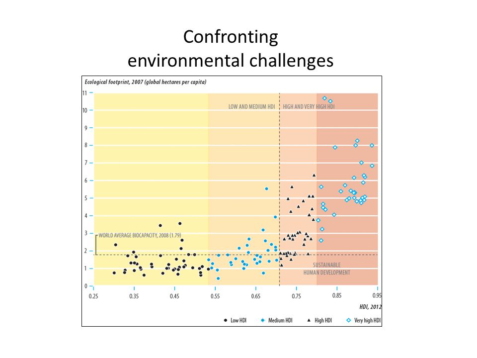 Confronting environmental challenges