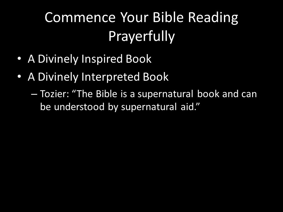 How To Read The Bible An Instruction Manuel For Christian Living