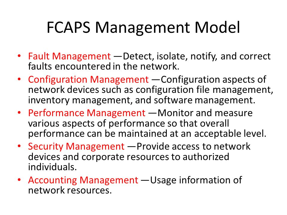 Network Management System (Best Practice) REF: Document ID ppt download