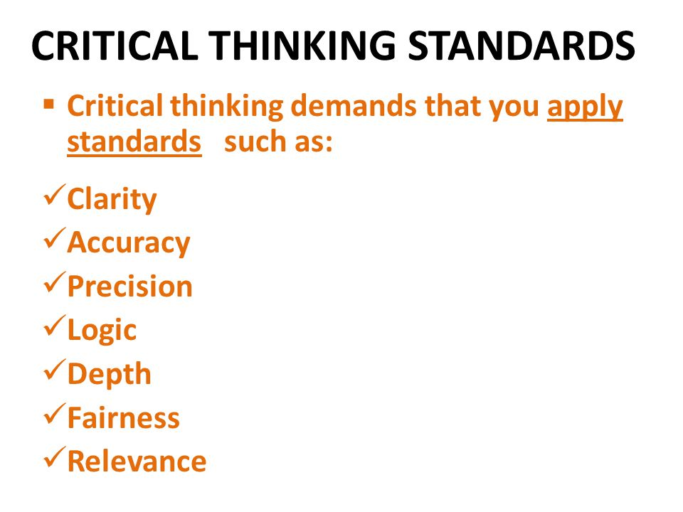 the role of critical thinking and perception Critical thinking can be infused in lessons throughout all disciplines by utilizing in depth questioning it is important for educators to understand that the role they play in developing critical thinking is faculty perceptions of critical thinking at a health sciences university journal of the scholarship of.