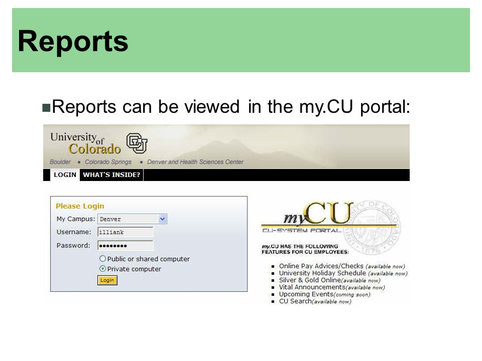 UCD Finance Office/Accounting Services HOME PAGE: THIS