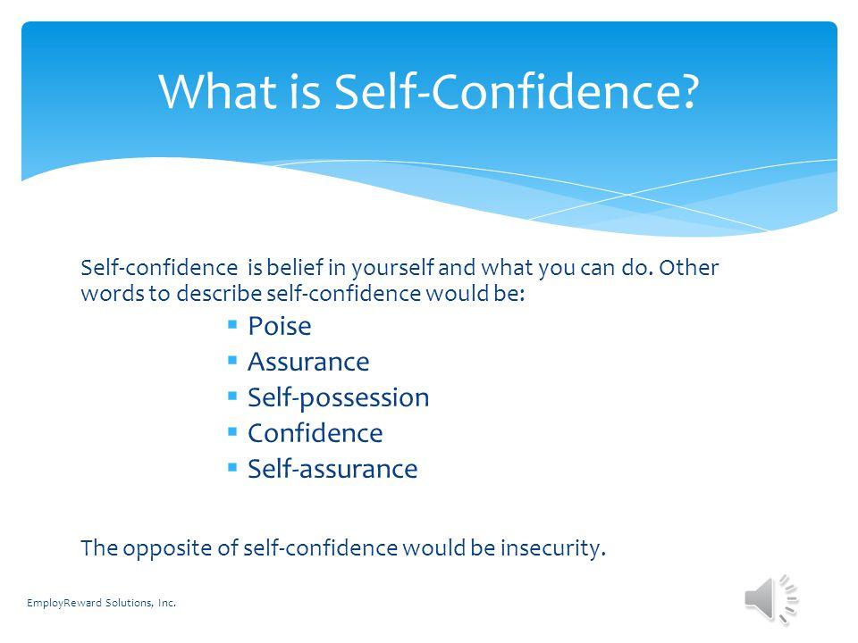 lack of self esteem causes