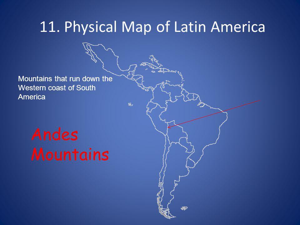 1. Political Map of Latin America South America. 2 ...