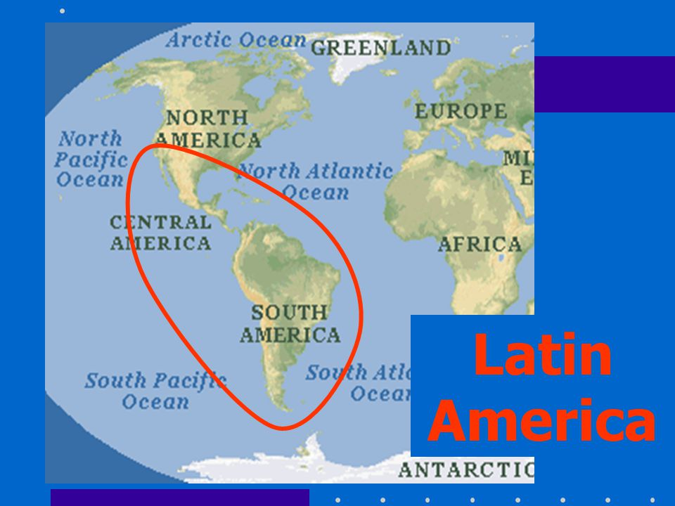 Latin America Where Is Latin America Find Mexico On A World Map