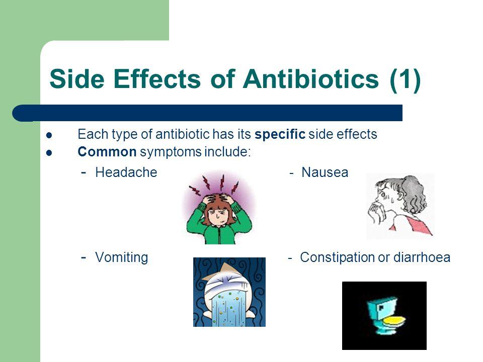 how to deal with antibiotics nausea
