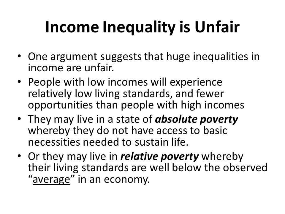 Distribution of income income inequality the lorenz curve the