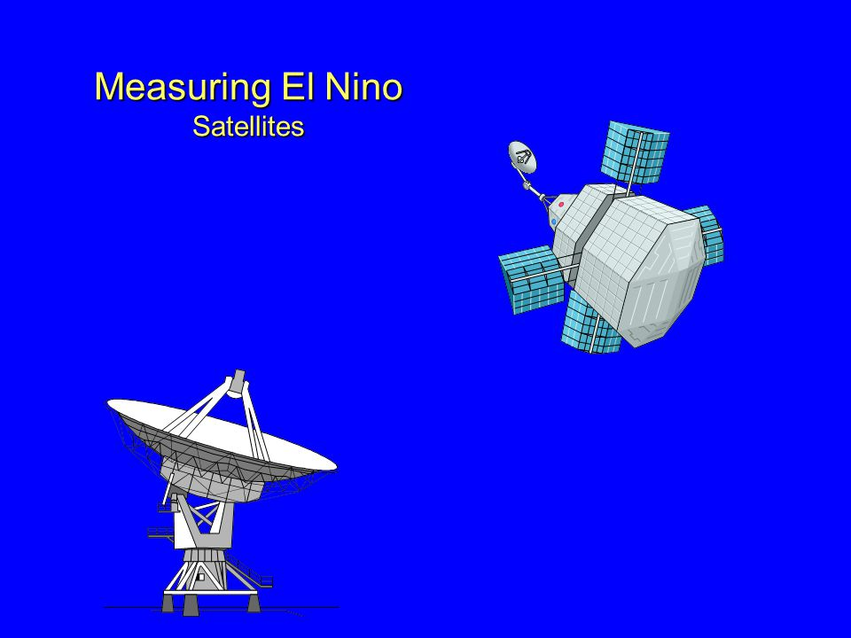 Measuring El Nino Satellites