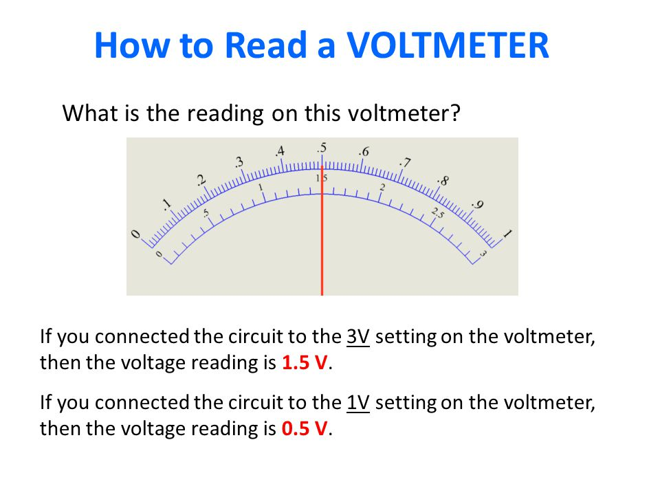 How to Read a VOLTMETER What is the reading on this voltmeter.