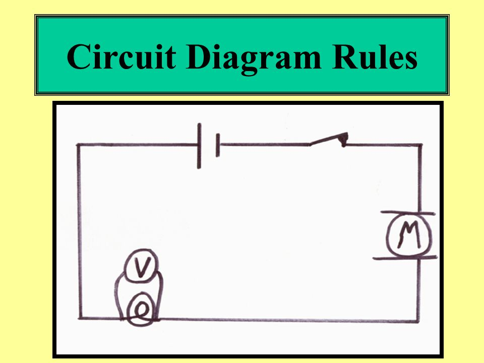 circuit diagram rules 1 always use a ruler 2 be neat and make your rh slideplayer com